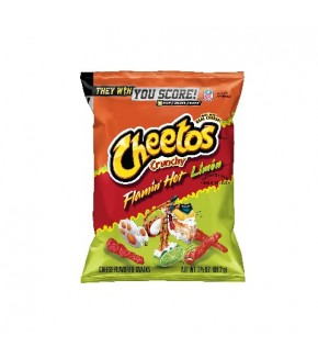 Cheetos Crunchy Flamin' Hot Limon 3 1/2 oz (99.2 g)