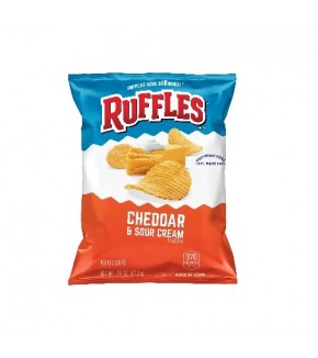 Ruffles Cheddar and Sour Cream 2 3/8 oz (67.3 g)