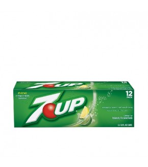7UP 12 oz can (12 pack)