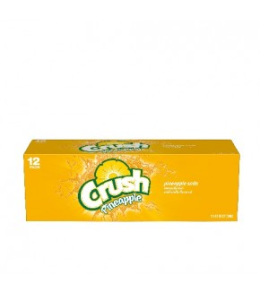 Crush Pineapple 12 oz can (12 pack)