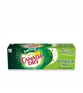 Canada Dry Ginger Ale 12 oz can (12 pack)