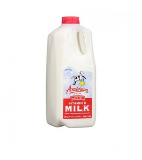 Anderson Whole Milk Half Gal