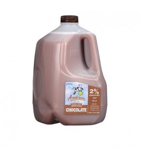 Anderson Reduce Fat 2% Chocolate Milk 1 Gal