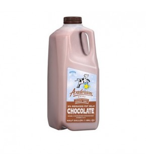 Anderson Reduce Fat 2% Chocolate Milk Half Gal