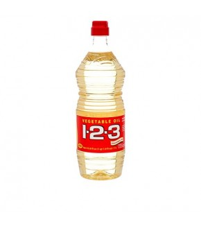 1-2-3 Vegetable Oil 1Lt