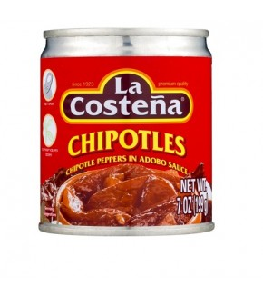 La Coste�a Chipotle Peppers In Adobo Sauce 7oz