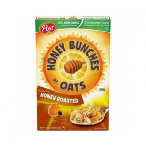 Post Honey Bunches of Oats Cereal Honey Roasted 18oz